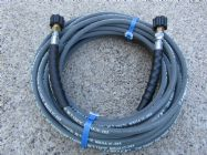 20 Metre 1|4 Inch 5800psi Grey 2 Wire Low Marking | M22F Screw Connection Fittings | Main Image