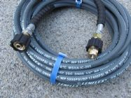 20 Metre 1|4 Inch 5800psi Grey 2 Wire Low Marking | M22F -14mmF Screw Connection Fittings | Main Image