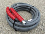 10 Metre 3|8 Inch 6000psi Grey 2 Wire Low Marking M and F