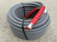 30 Metre Grey 3|8 Inch 6000psi 2 Wire Low Marking M & F Hose | Image 2