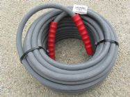 30 Metre Grey 3|8 Inch 6000psi 2 Wire Low Marking M & F Hose | Image 3