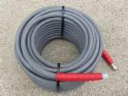 40 Metre Grey 3|8 Inch 6000psi 2 Wire Low Marking M and F Hose | Image 2
