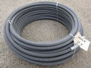60 Metre Grey 3|8 Inch 6000psi 2 Wire Low Marking M & F Hose | Image 3