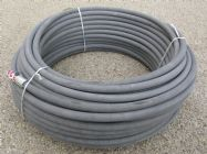 60 Metre Grey 3|8 Inch 6000psi 2 Wire Low Marking M & F Hose | Image 2
