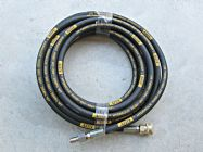 10 Metre Aestr Single Steel Braided High Pressure Hose with Quick Connection Fitting | Image 3