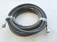 10 Metre Aestr Single Steel Braided High Pressure Hose with 22mm Screw Connection Fittings | Main Image