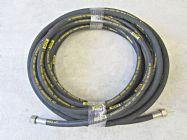 20 Metre Aestr Double Steel Braided High Pressure Hose with 22mm Screw Connection  Fittings | Image 2