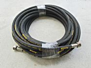 20 Metre Aestr Single Steel Braided High Pressure Hose with 22mm Screw Connection Fittings | Image 2