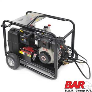 10hp Yanmar DIESEL | HOT & COLD Water High Pressure Washer | Elec Start Engine | Comet 2900psi Pump | 16 L|Min