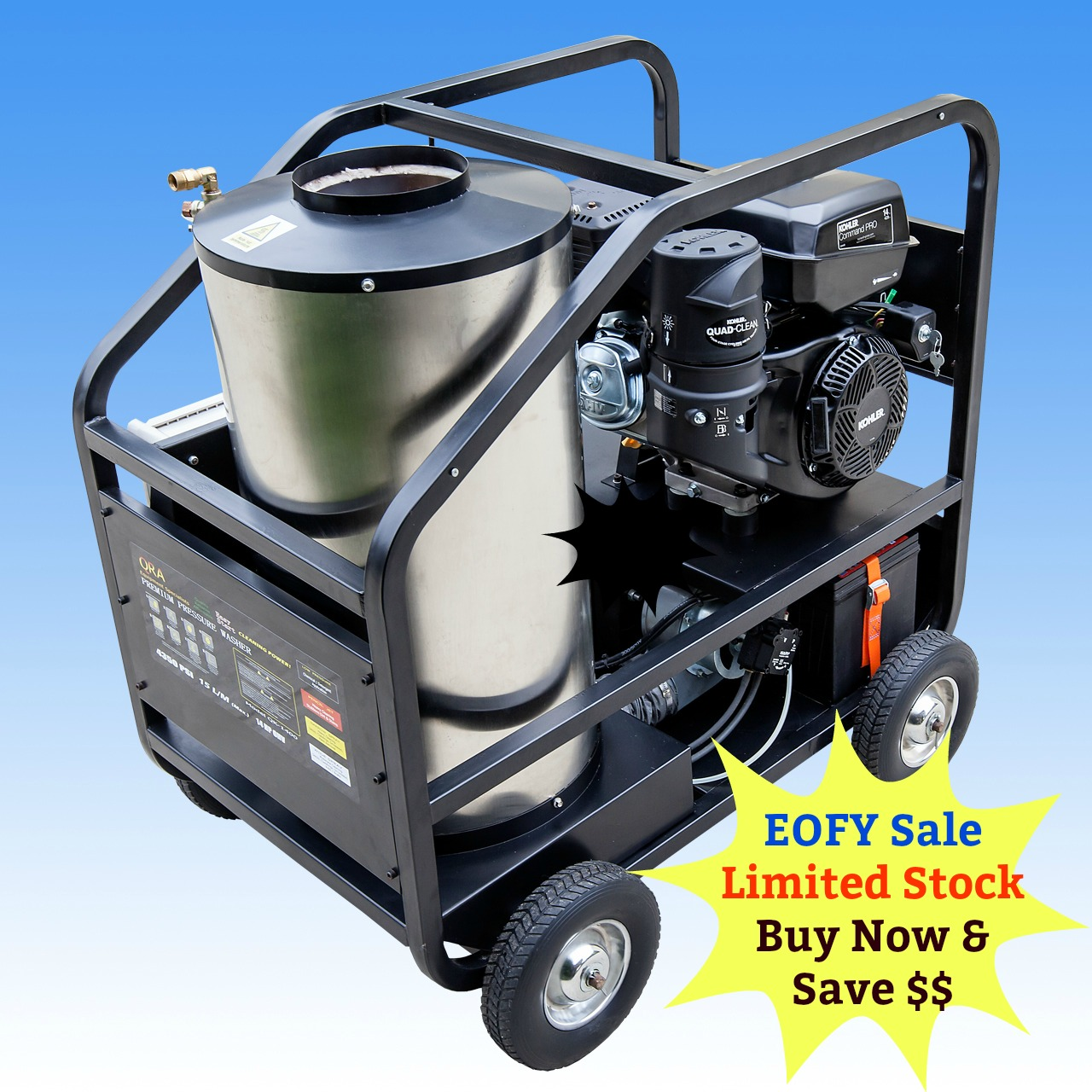 14 Hp Kohler Engine Diagram 14hp Hot And Cold Water High Pressure Washer Cleaner With Electric Start