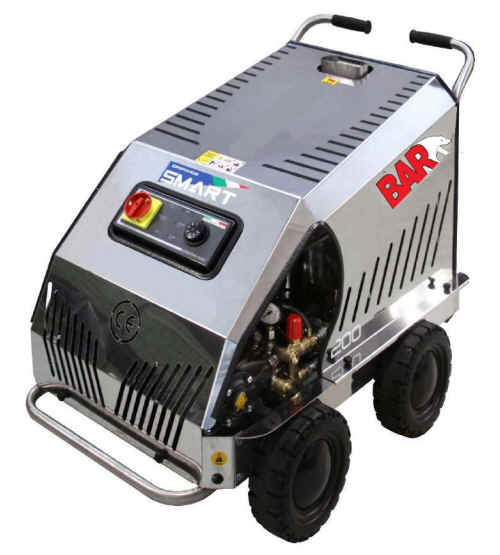 A SMART 120|11 HOT Water High Pressure Washer Cleaner | 1740psi | 11 L|Min | 2.2Kw