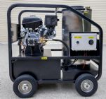 14hp Kohler HOT & COLD WATER High Pressure Washer | Cleaner Elec Start Engine | AR 4060psi Pump | Image 3