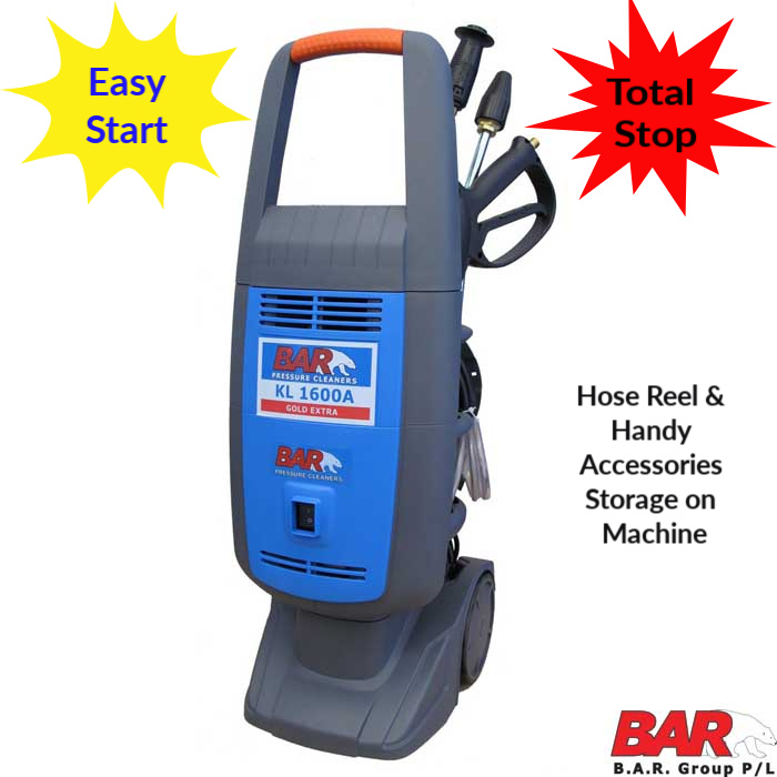 KL 1600 | Electric Pressure Washer |  2175psi  | 10 Amp | 1600 Watt | 8 LPM