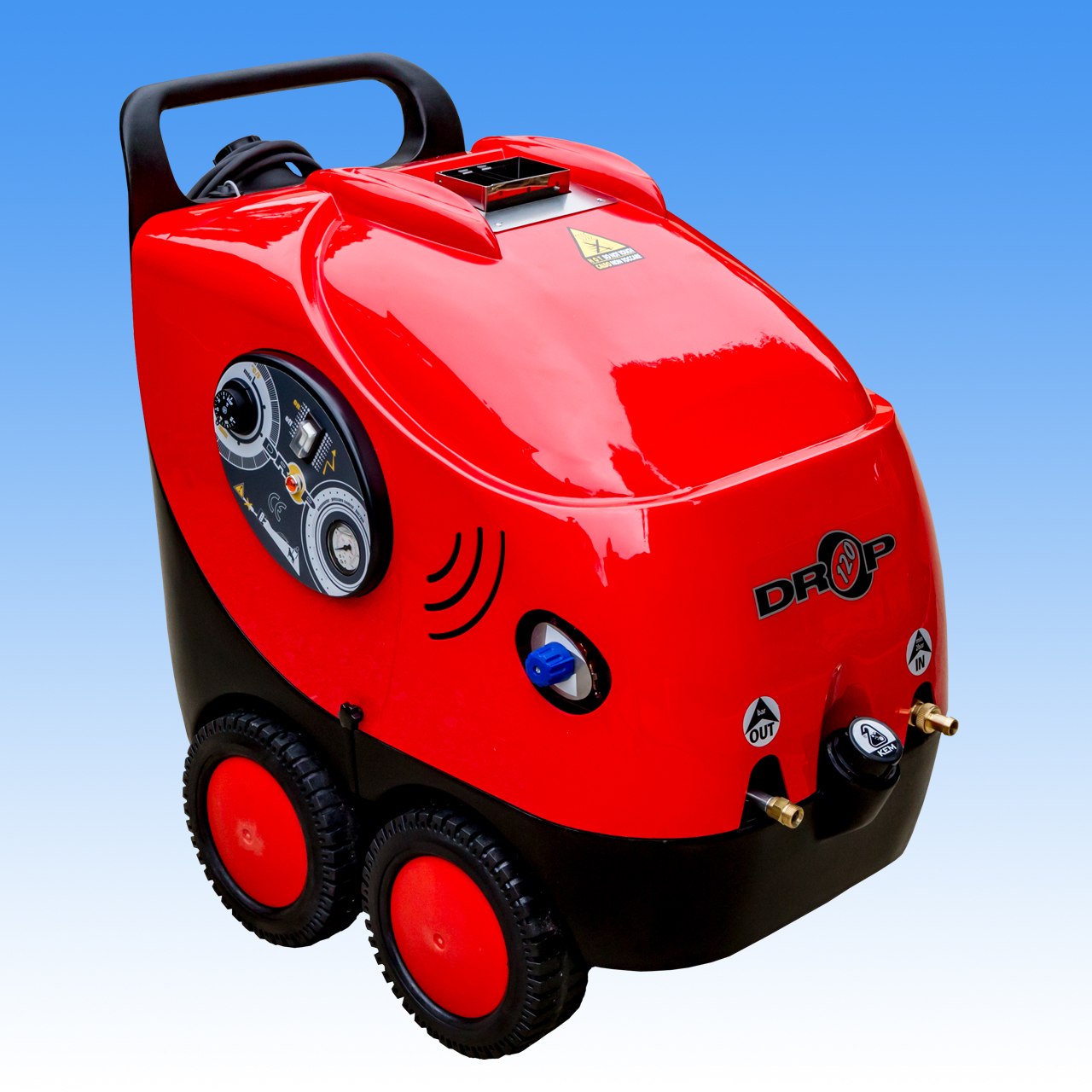 MAER  DROP 120 | 11  | HOT Water High Pressure Washer Cleaner  | 1750psi | 11 L|Min | 2.2Kw Electric