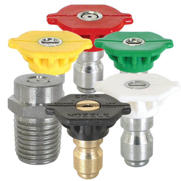Pressure Washer Quick Connect Nozzles and Meg Nozzles