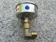 3|8 BSP Male - 1|4 BSP Female Elbow Pressure Gauge Mounting Fitting | Image 3