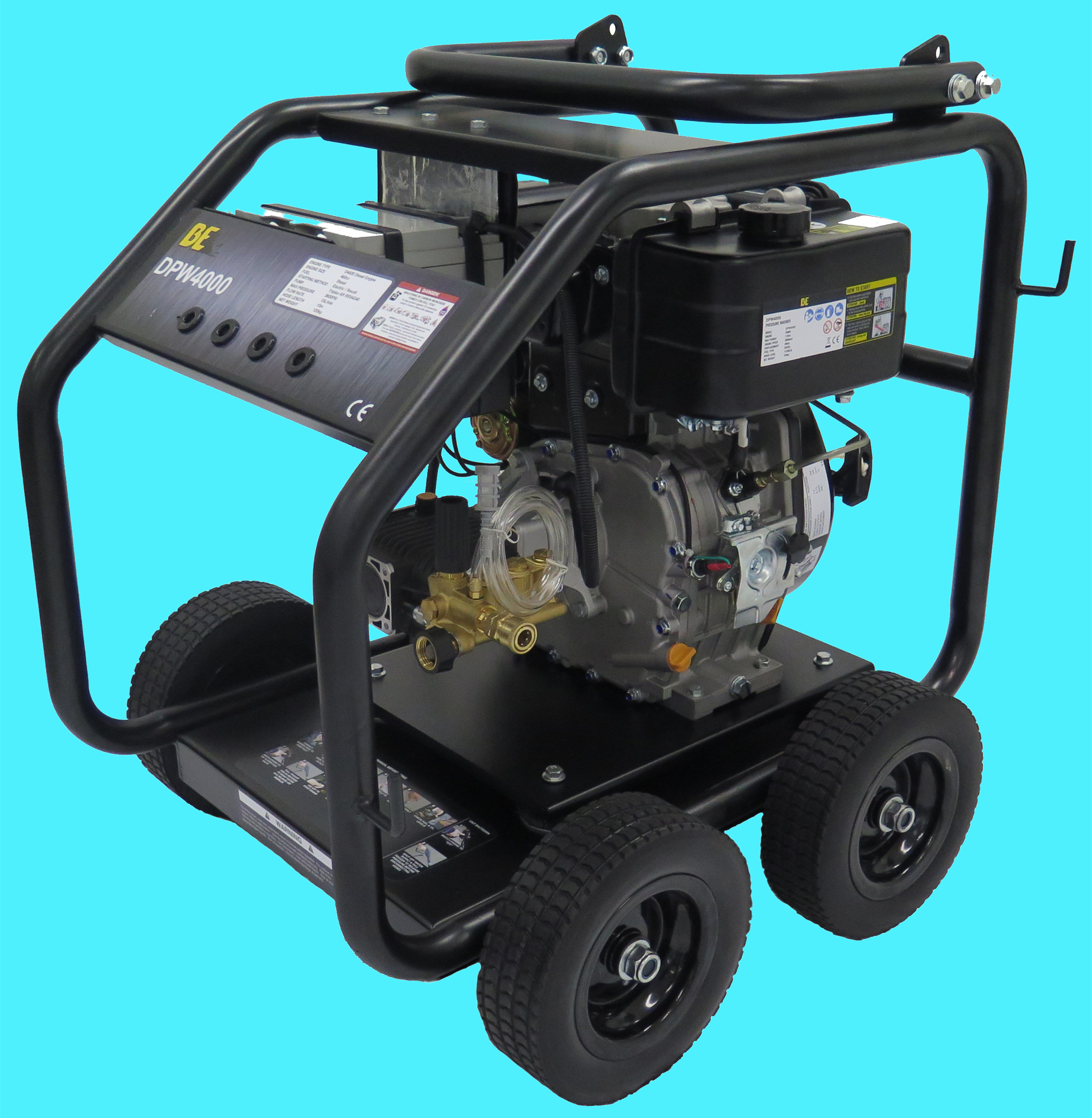 10hp DIESEL Engine Electric Start with AR 4060psi Pump QKBE1000 RE