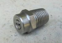 Replacement Rotary Surface Cleaner - Stainless Steel 015 Meg Nozzle 0 Degrees
