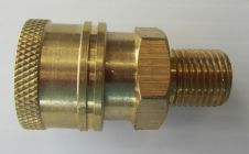 1|4 BSP M- 1|4 F QC Coupler High Pressure Hose Fitting | Image 2
